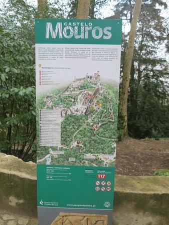 Castle of the Moors: Placa de entrada