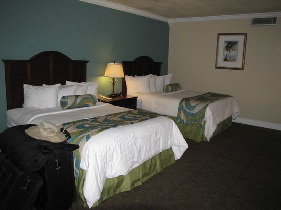 BEST WESTERN Key Ambassador Resort Inn: two queen beds