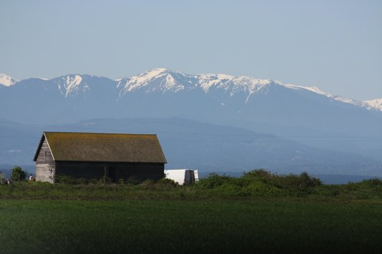 Anchorage Inn Bed and Breakfast : great views of the mountains and water while on the island