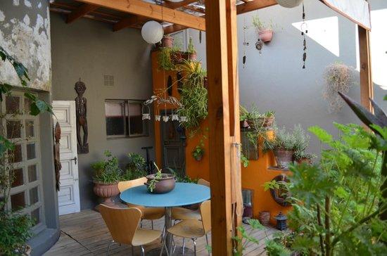 Casa Moro: Terrace outside our room
