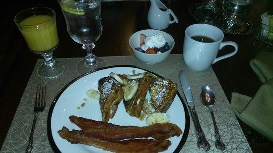 The Buck House Inn on Bald Mountain Creek: My Buckhouse Breakfast