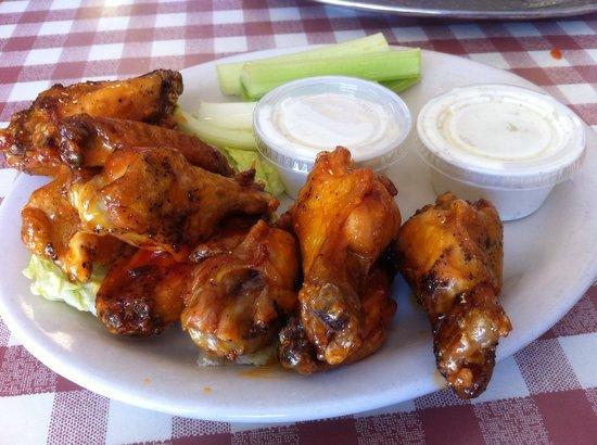 Lenny's NY Pizza: Wings