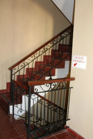 Boutique Hotel Palacio: stairs
