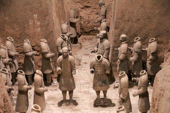 China Highlights Xi'an : The terracotta warriors