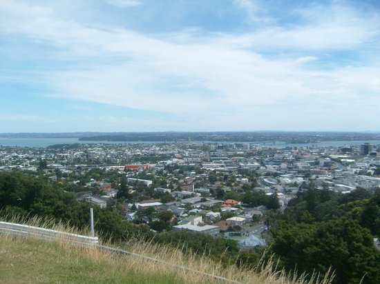 Mount Eden: view
