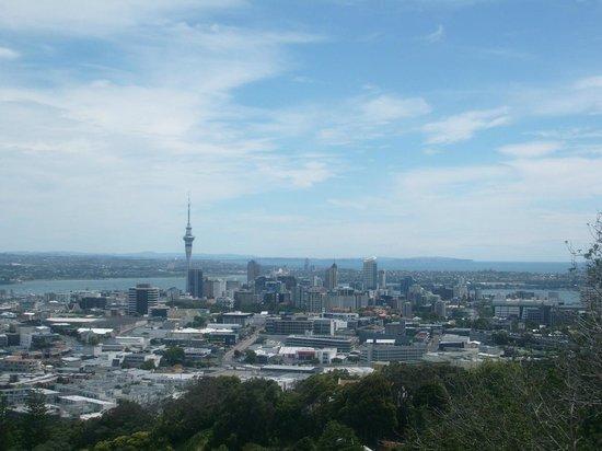 Mount Eden: view - Auckland CBD