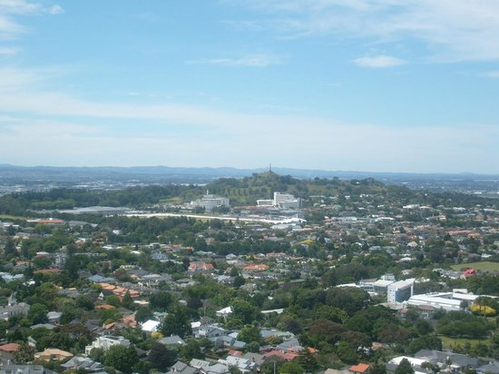 Mount Eden: view