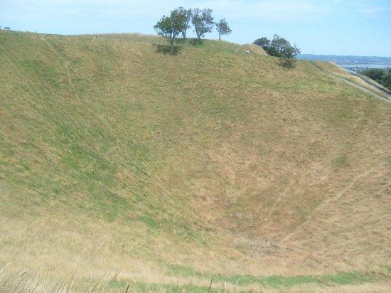 Mount Eden: crater