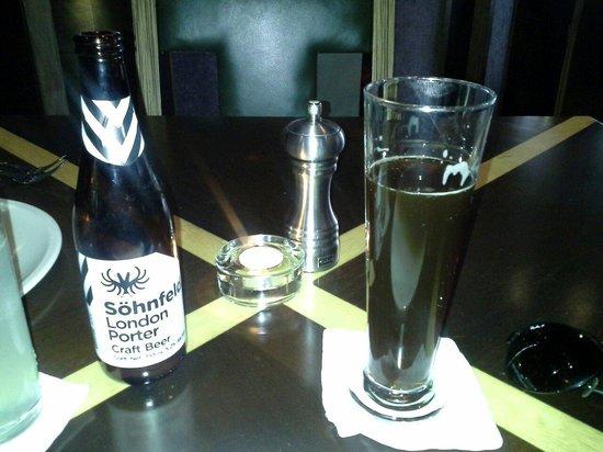 Porter: Rica cerveza