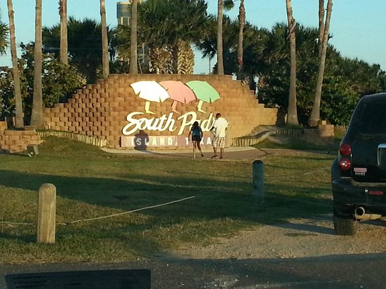 Pearl South Padre: The island sign
