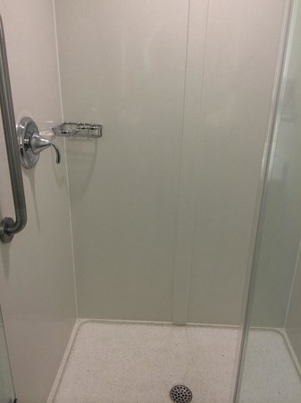 SpringHill Suites Cincinnati Airport South: Stand up shower. Love the hard spray with adjustable massage settings...