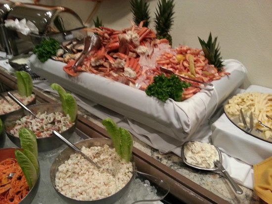Pearl South Padre: The seafood buffet