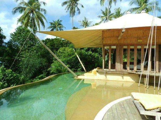 Soneva Kiri Thailand: 部屋にはプライベートプールがあります。