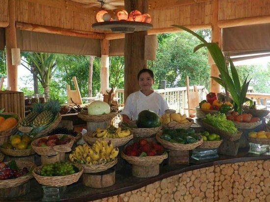 Soneva Kiri Thailand: 朝食