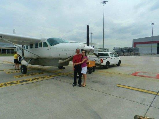 Soneva Kiri Thailand: セスナに乗って出発