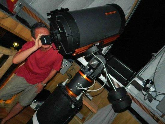 Soneva Kiri Thailand: 天体観測中