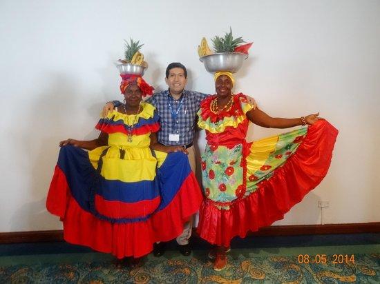 Hotel Almirante Cartagena Colombia : Admirando la tradición Colombiana