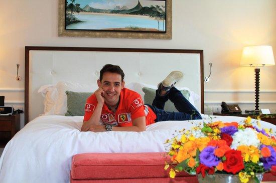 Belmond Copacabana Palace : Chegada ao quarto do hotel