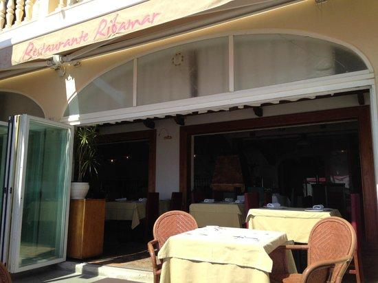 Ribamar : Frente do restaurante