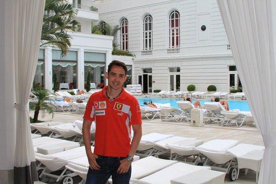 Belmond Copacabana Palace : Area da piscina