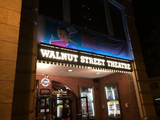 Walnut Street Theatre: Theatre Signage
