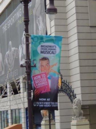 Walnut Street Theatre: Street Flag