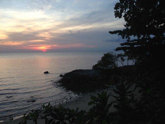 Villa Aarya: Sunset upon arrival