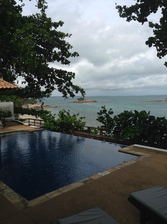 Villa Aarya: view from private pool