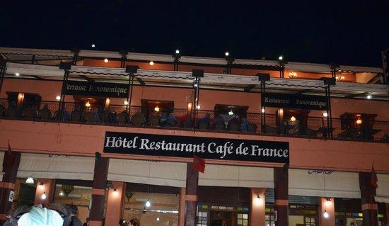 Cafe de France: Café de France- Marrakech