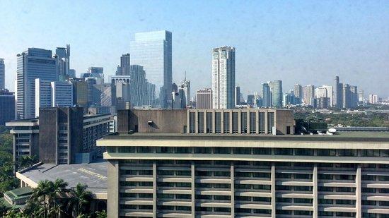 Makati Shangri-La Manila: View frm the room