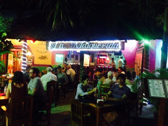 La Malquerida : Front of the restaurant
