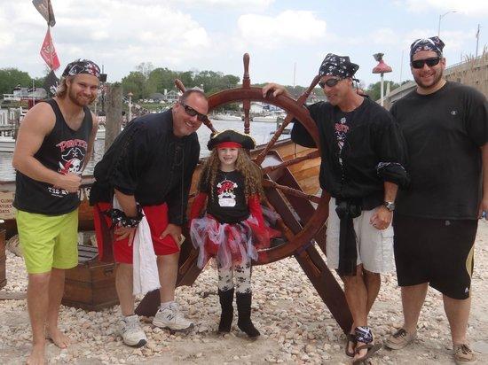 Pirates on the Manasquan: Worlds Best Pirate Crew
