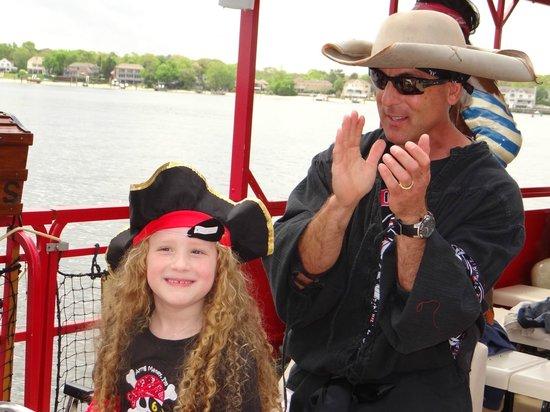 Pirates on the Manasquan: Happy Birthday Skylar