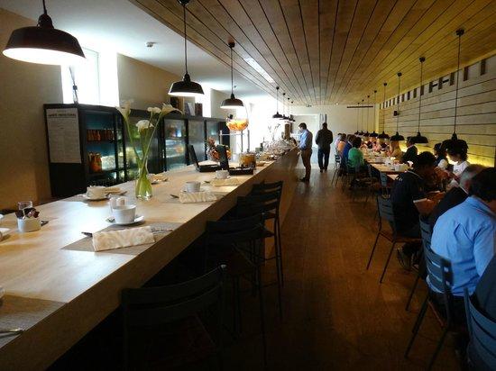 Hôtel Les Haras : Restaurante - café da manhã.