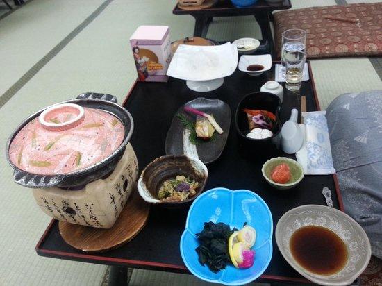 Kinugawa Plaza Hotel : dinner