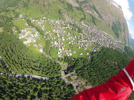 Matterhorn: voo de parapente em Zermatt