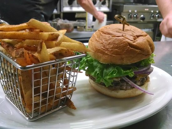 The Pub: Daily fresh ground meat for the best burger ever!