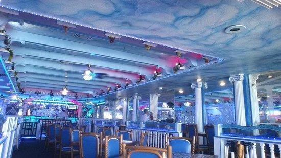 Interior Of Hellas Restaurant