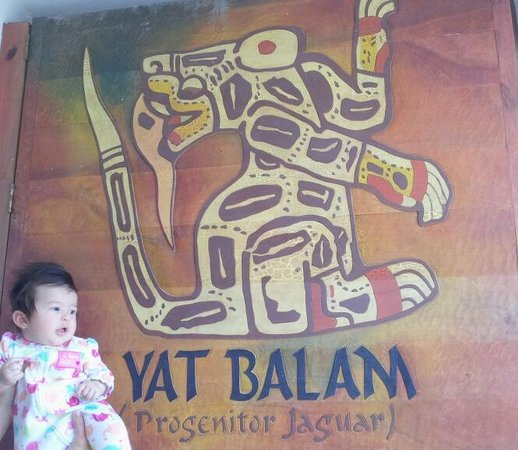 Yat B'alam Boutique Hotel: Our baby enjoying the hotel