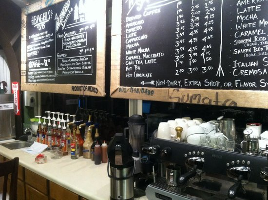 Grapes & Grinds: Coffee bar