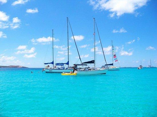 Icacos Island : Sail at Icaco's
