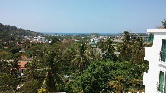 Kata Ocean View Residences: Вид с балкона