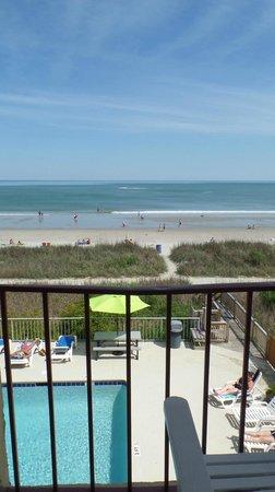 Gazebo Inn Ocean Front: From our balcony