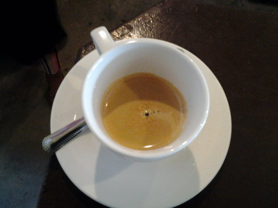 The French Coffee Shop: espresso made in Coffee Shop