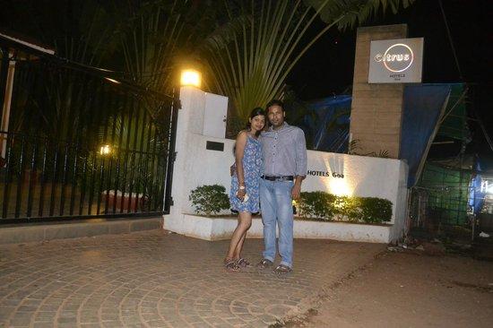Citrus Goa: Hotel Enterance