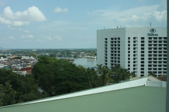 Pullman Kuching: Hilton Hotel from our room