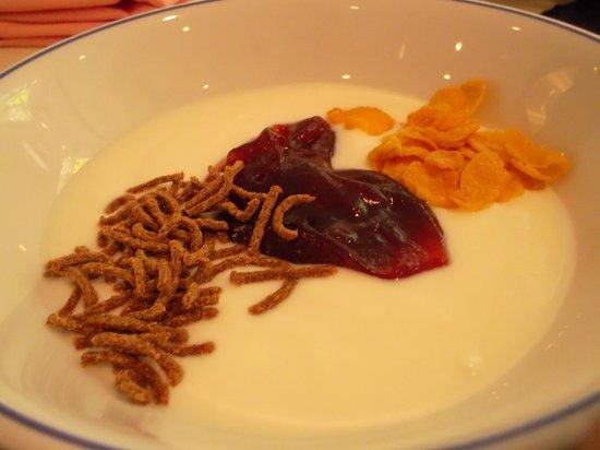 Dusit Thani Pattaya: Yoghurt