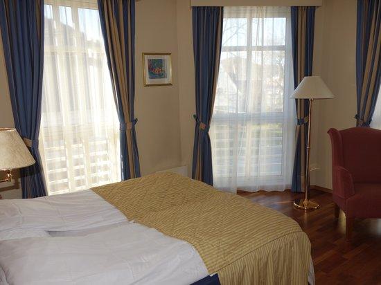 Grand Hotel Egersund: Eckzimmer