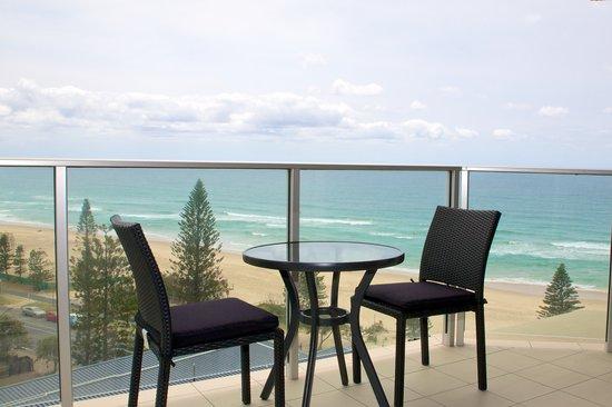 Hi Surf Beachfront Resort Apartments: Balcony View