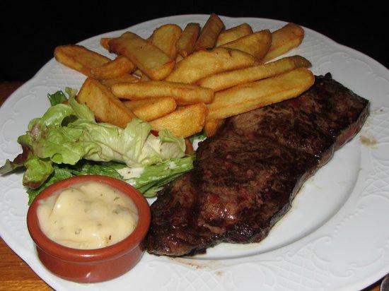 Bistrot Richelieu: Steak and fries